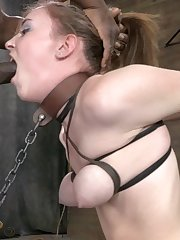 Jack Hammer in bondage and torture sex toys extreme